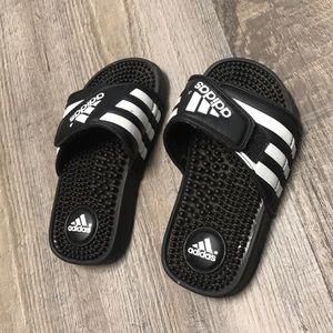 d19cf36cca09c adidas Shoes | Girls Hot Pink Slides New | Poshmark